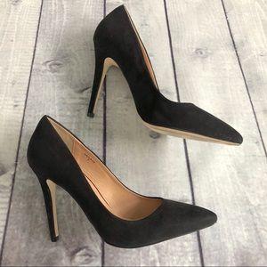 Nordstrom Mixx Shoes Kayla Suede Heels SZ 7